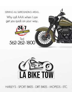 LA Bike tow 24hrs for Sale in Los Angeles, CA