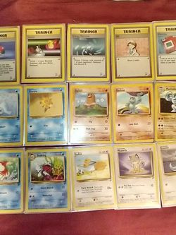 Pokemon 1995 Base 2 Set Cards By Wizards. for Sale in Fresno,  CA