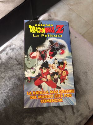 DRAGON BALL Z - SPANISH VERSION - 1997 VHS for Sale in Plantation, FL