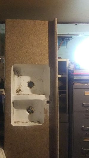 Unused sink countertop marble for Sale in Peoria, IL