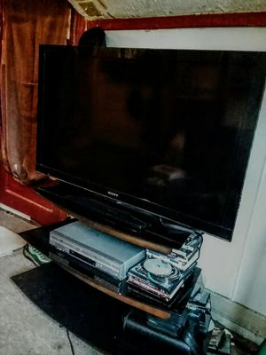 """55"""" SONY BRAVIA &STAND for Sale in Alexandria, MN"""