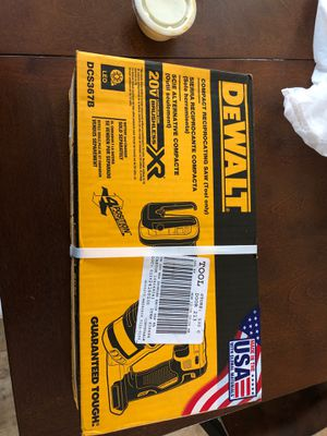Dewalt compact reciprocating saw for Sale in Horseheads, NY