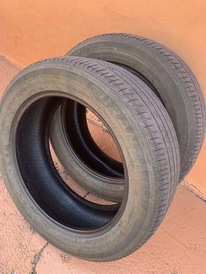 2️⃣ Bridgestone Turanza P215/55R17 for Sale in Carol City, FL