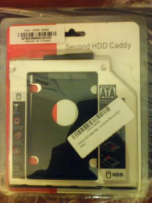 Second HDD caddy sata drive bay dvd for Sale in Hawthorne, CA
