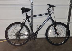 Trek 4500 mountain bike + 2 seater bike trailer/stroller for Sale in Phoenix, AZ
