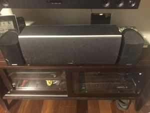 Polk Audio— Center channel w/ 2 front speakers for Sale in Dundalk, MD