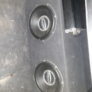 Bazooka 10inch Subwoofers And 1200 W 2Ch Planet Audio Amp for Sale in Whittier, CA
