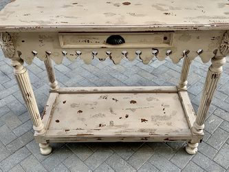 Kitchen Island Small Sideboard or Buffet plus Pot Rack for Sale in Los Angeles,  CA