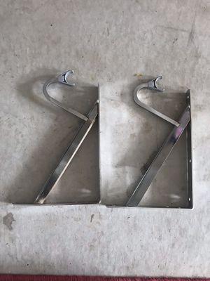 Heavy duty shelf and rod bracket - chrome for Sale in Hanscom Air Force Base, MA