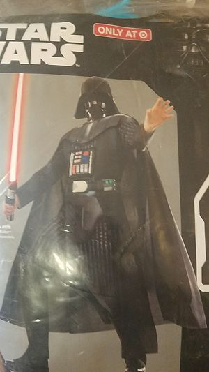Darth Vader adult costume for Sale in Duncanville, TX