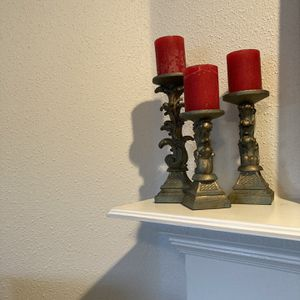 3 Candal Holders With Candals for Sale in Pasadena, TX