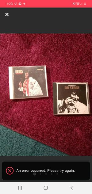 2 Elvis Presley CDs for Sale in Lacon, IL