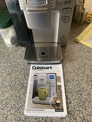 Cuisinart Keurig SS-780PC2 coffee maker for Sale in Escondido, CA