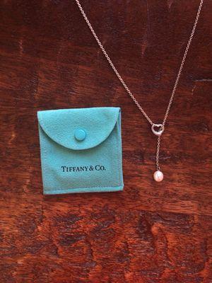 Tiffany & Co Elsa Peretti Open Heart Lariat Necklace for Sale in Orlando, FL