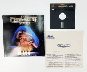"Vintage The Chessmaster 2000 - 5.25"" Floppy Disk, Manual etc. (1986) - IBM PC Tandy for Sale in Trenton, NJ"