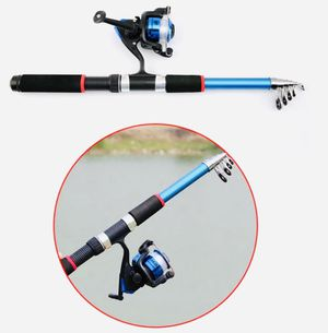 OSMY fishing rod and reel combo, spinning line, reel, tackle included for Sale in Tolland, CT