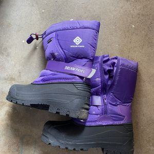 Girls Kids Snow Boots Shoes Size 2 Childs for Sale in Monrovia, CA
