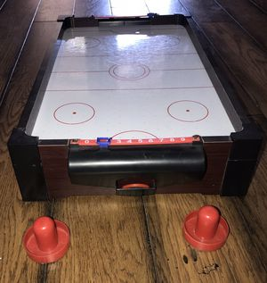 Westminster Air Hockey Tabletop Game ~ Portable ~ Battery Operated for Sale in Hesperia, CA