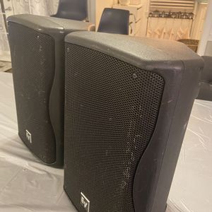 Two (2) EV ZX1-90 Speakers - $300 for Sale in Huntersville, NC