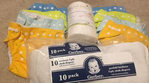 Cloth diaper bundle for Sale in Durham, NC