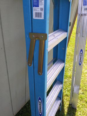 Werner 6ft ladders like new for Sale in Canal Winchester, OH