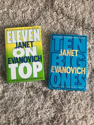 Janet Evanovich hard covers for Sale in Buena Park, CA