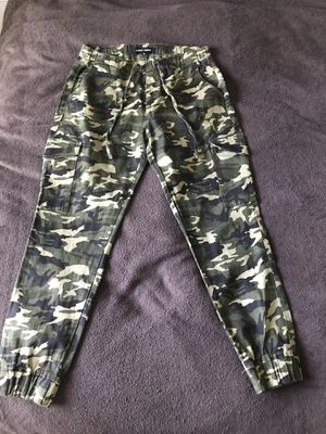 Camo Print Cargo Jogger Pants for Sale in Lawrenceville, GA
