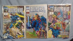 9 Comic Books In Plastic Sleeves... Death's Head 2 x3 issues, The Crow x2 issues, Wetworks x2 issues, Nomad x2 issues for Sale in Upland, CA
