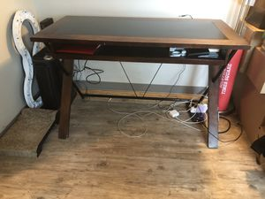 Wooden desk for Sale in Wichita, KS