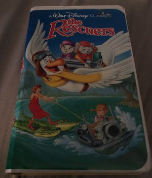 Walt Disney The Rescuers VHS tape for Sale in Lancaster, OH