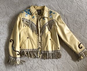 Double D Ranch Leather Jacket (ladies) for Sale in Liberty Lake, WA
