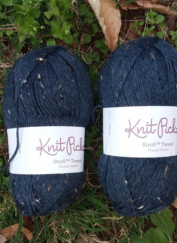 2 sks Knit Picks Stroll Tweed yarn