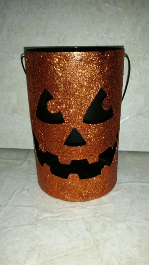 New Halloween pumpkin candle holder for Sale in Lake Wales, FL