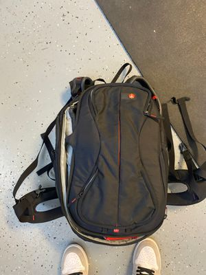 Manfrotto video camera backpack for Sale in Jurupa Valley, CA
