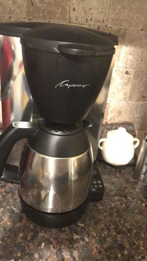 Capresso Coffee Maker for Sale in Oklahoma City, OK