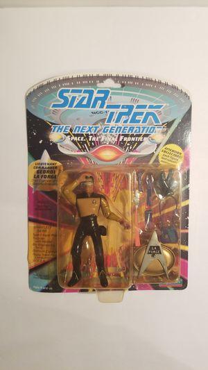 Vintage 1992 Star Trek Lieutenant commander Geordi La Forge Action Figure for Sale in Spring, TX