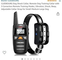 BRAND NEW Cleebourg Dog Training Collar With Remote for Sale in Brandon,  FL