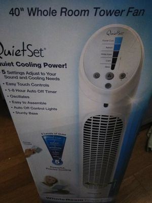 "Honeywell 40"" quiet set Tower Fan with Remote and Timer for Sale in San Bernardino, CA"