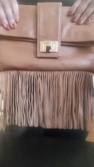 Fringed Fold-over Clutch Bag for Sale in Cary, NC