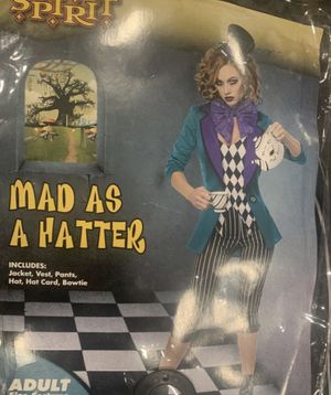Mad hatter costume for Sale in Pomona, CA
