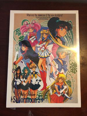 Sailor Moon S - Pretty Soldier Puzzle from the early 2000s for Sale in Pasadena, CA