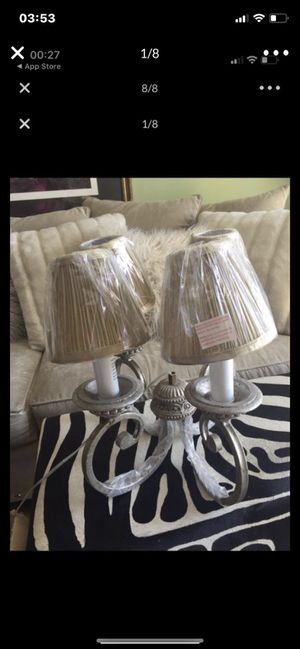 "Chandelier ""New"" still in the box. Make offer. Originally paid 170.00. for Sale in Concord, NC"