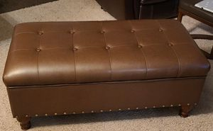Faux Leather Bedroom Bench for Sale in Fort Belvoir, VA