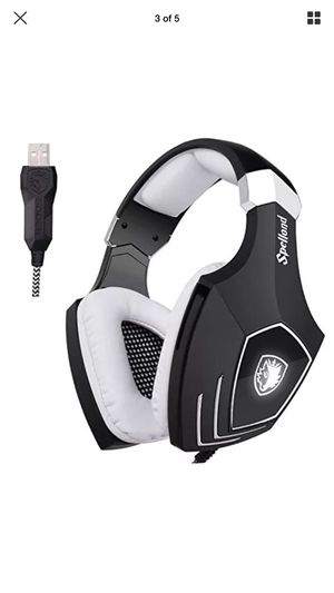 USB Gaming Headset-SADES A60/OMG Computer Over Ear Stereo Headphones With With Mic for Sale in Mount Juliet, TN