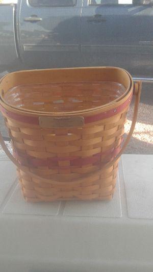 Longaberger basket for Sale in Apache Junction, AZ