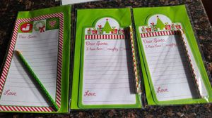(3) New Letters to Santa with Pencils for Sale in Ashburn, VA