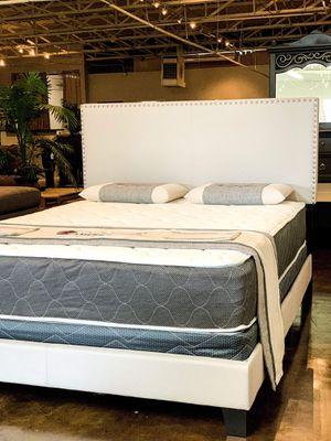BRAND NEW FULL SIZE BED AND MATTRESS (FREE DELIVERY) for Sale in Lewisville, TX