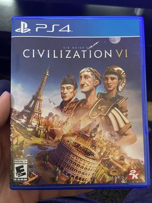 Ps4 civilization 6 like new for Sale in Las Vegas, NV