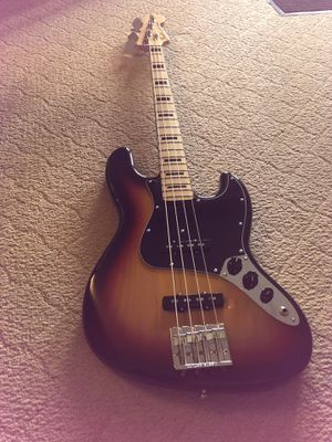 Fender Jazz Bass, Geddy Lee Edition for Sale in Kannapolis, NC