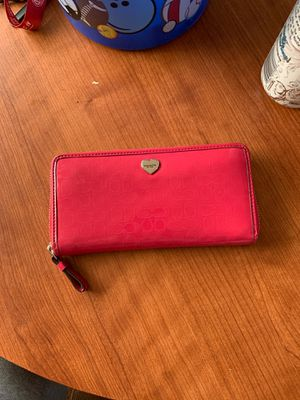 coach pink wallet for Sale in Pacific, WA